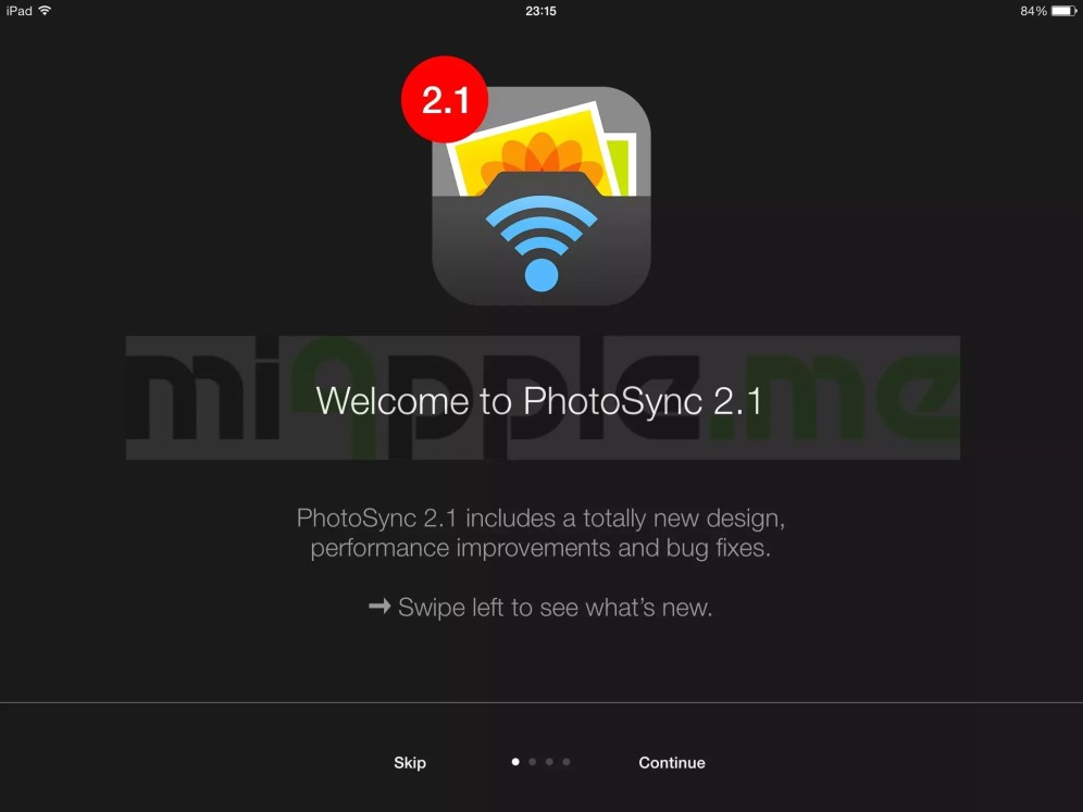 PhotoSync 2.1 features: new design, performance improvements and bug fixes