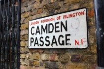 Camden Passage, London Vintage Shopping #100DaysofMiaPrima