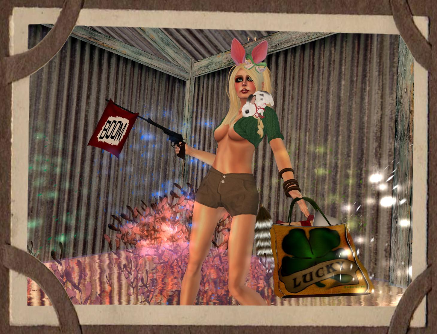 Boom Boom Bunny  MIASNOW in Second Life