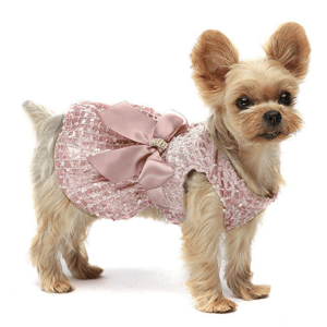 Fitwarm Embroidery Dog Dresses