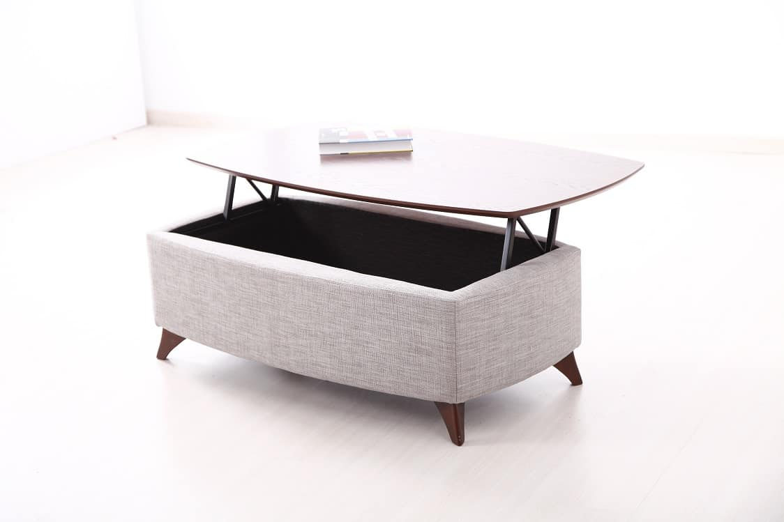 Fama Tab Elsa Lifting Top Coffee Table  Mia Stanza