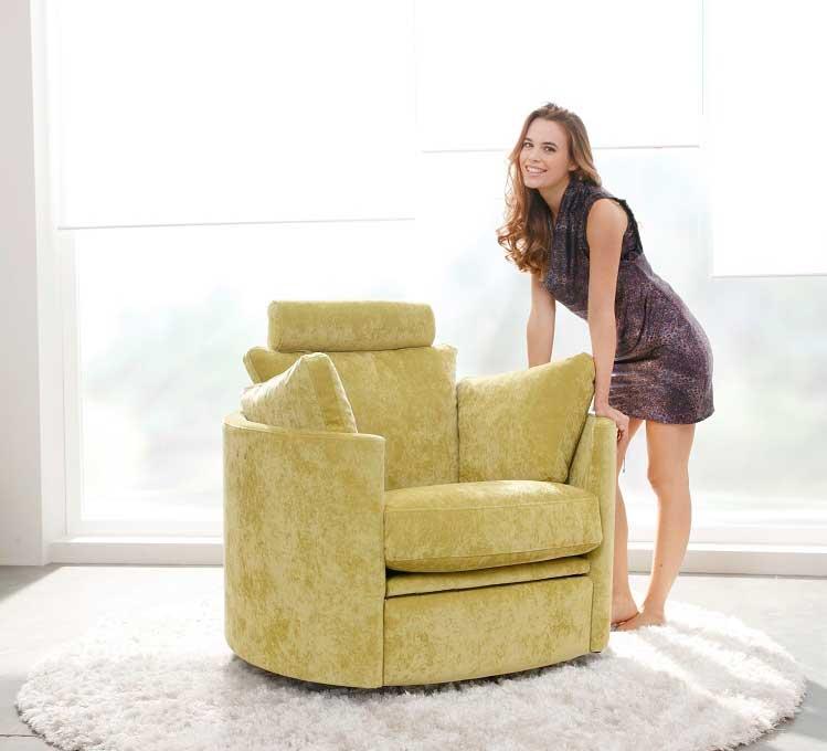 Fama Moon Chair Fabric  miastanzacouk