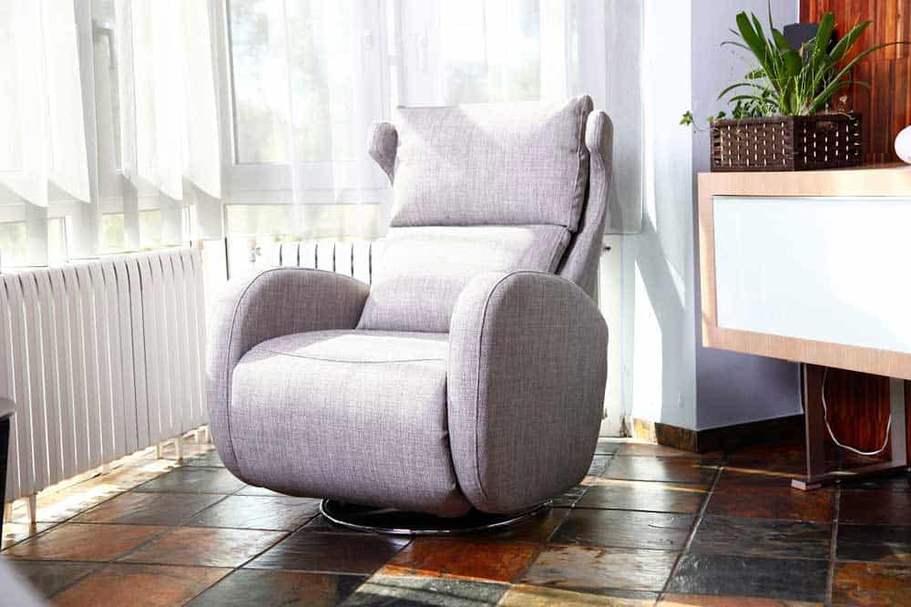 design chair for you round cushions fama kim recliner armchair - miastanza.co.uk