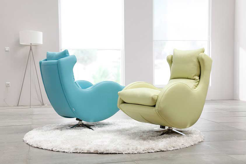 Fama Lenny leather Chair  miastanzacouk
