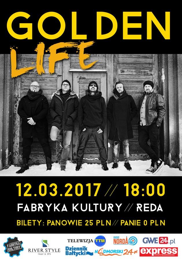KONCERT GOLDEN LIFE | FABRYKA KULTURY REDA