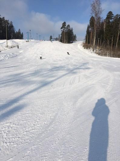 Vihti Ski's sunny slope