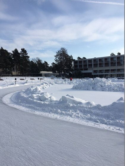 Iceskating ring