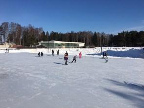 Skating in Tapiola