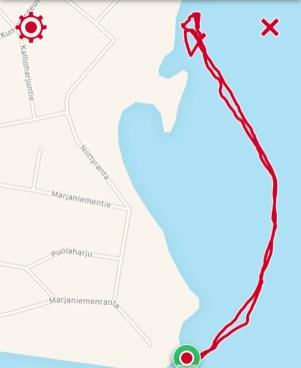 Reitti 1, 1,46 km