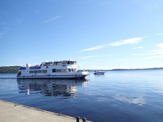 Laivallakin pääsee Viikinsaareen