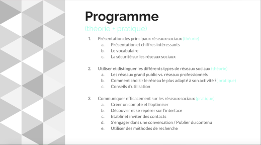 Formation digitale