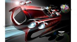 Santa en Bentley
