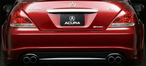 acura_rl_rear