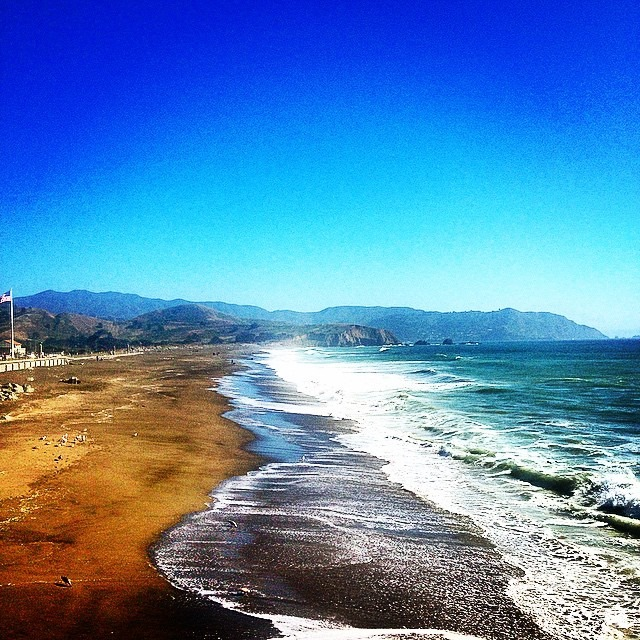 Mia goes M.I.A: Pacific Coast Highway