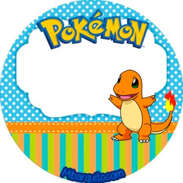 Toppers pokemon - imprimibles pokemon fiesta - candy bar pokemon gratis