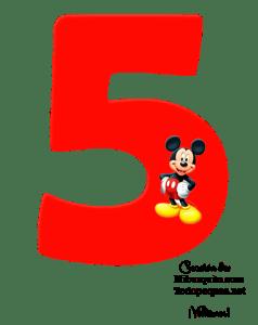 NUMEROS DE MICKEY - MICKEY NUMBERS