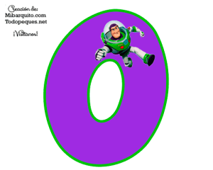 Buzz Lightyear numbers printables free