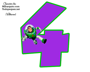 Toy Story numbers printables free