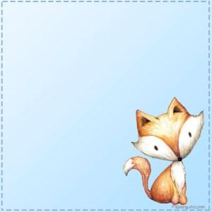 Animalitos del Bosque stickers para descargar