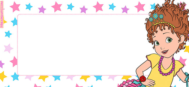 Candy bar Fancy Nancy gratis