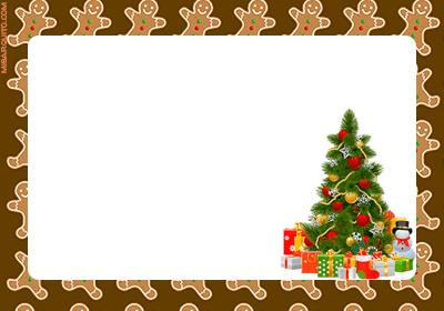 Imprimir tarjetas para regalos navidad