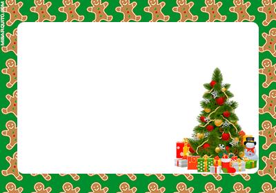Navidad tarjetas para regalos