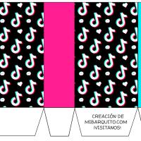 Kit imprimible de TikTok Descarga Gratis