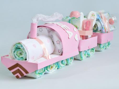 Tren De Paales Con Vagones Tartas De Paales Originales