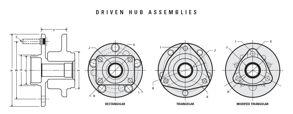 Wheel Bearing Hub Assembly Diagrams