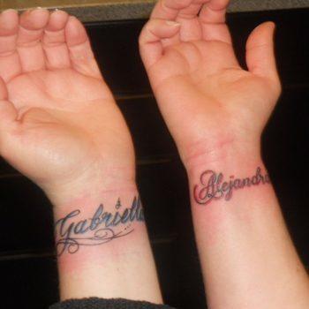 Tatuajes De Nombres Fotos De Tatuajes Con El Nombre De Tu Hijo Mi