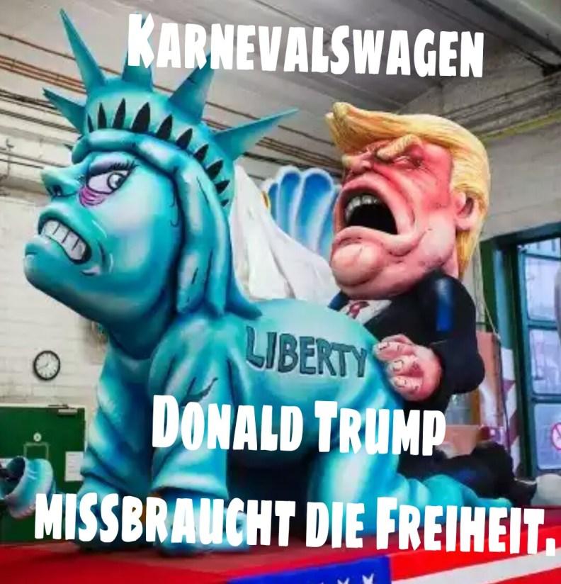 Trump beim Satire Missbrauch
