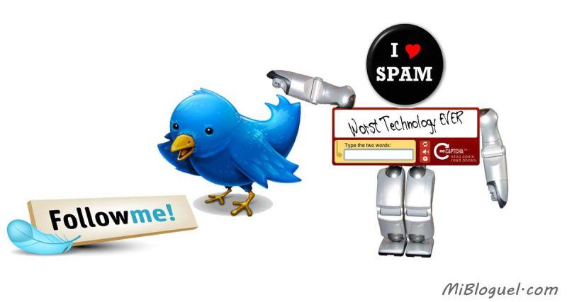 TrueTwit para Twitter, o cómo evitar el spam con spam