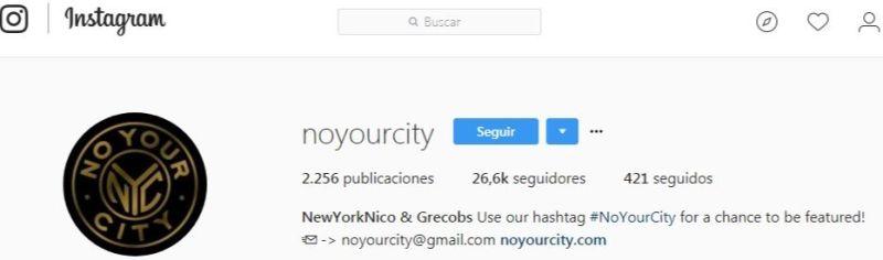 @noyourcity - Instagram
