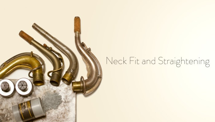 Straightening Neck Pull Down and Fitting Neck Tenon