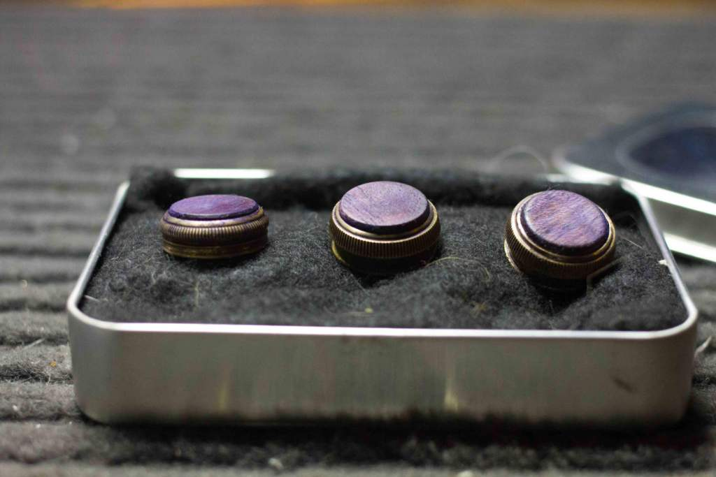Custom Finger Buttons