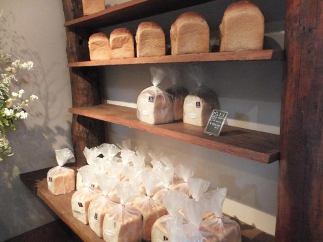 食パン売り場