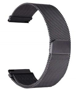 črn kovinski pašček xiaomi Bip GTS GTR Pace Stratos