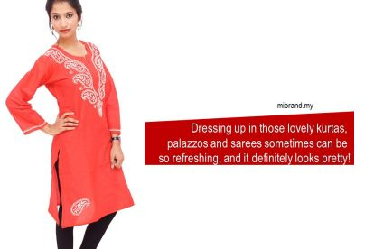 Kurtas, Indian Dress for office, Malaysia Business, Mibrand
