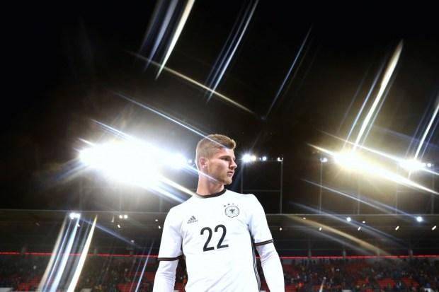 Timo Werner, un nuevo prospecto, que golea con el recién ascendido RB Leipzig. (Alexander Hassenstein/Bongarts/Getty Images)