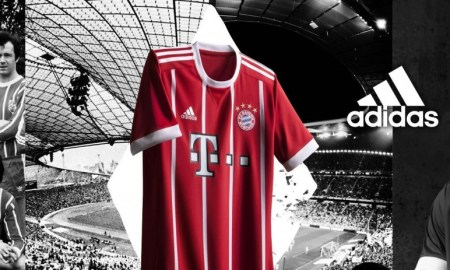 camiseta Bayern Múnich 2017/18