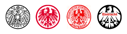 Escudos del Eintracht Frankfurt