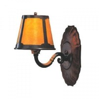 Mica Lamp Company 122 Wall Sconce - Coppersmith Collection