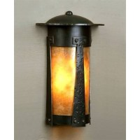 Mica Lamps 1900/3 Flush to Wall Sconce - Lantern 1900 ...