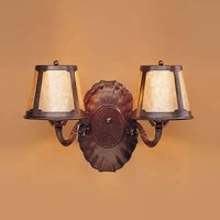 Mica Lamp Company 123 Double Wall Sconce - Coppersmith ...