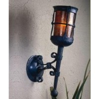 Mica Lamps LF211 Wall Sconce Torch - Vintage Gothic Iron ...