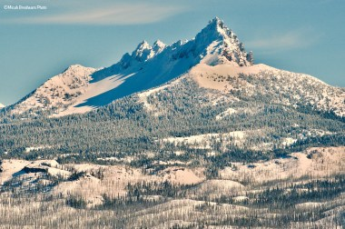 Three Fingered Jack from the top of Hoodoo