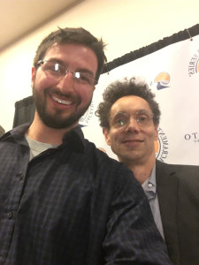 Micah & Malcolm Gladwell at Sac Speaker Series Feb 2016