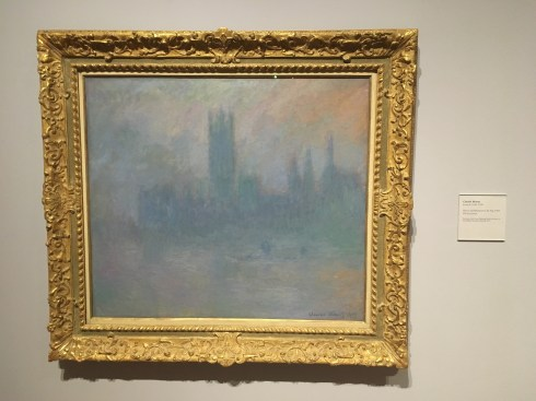 House of Parliament in the Fog by Claude Monet