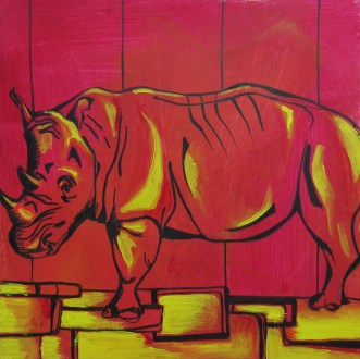 Day 29 (5/28/12): Yellow Brick Road & a Rhino