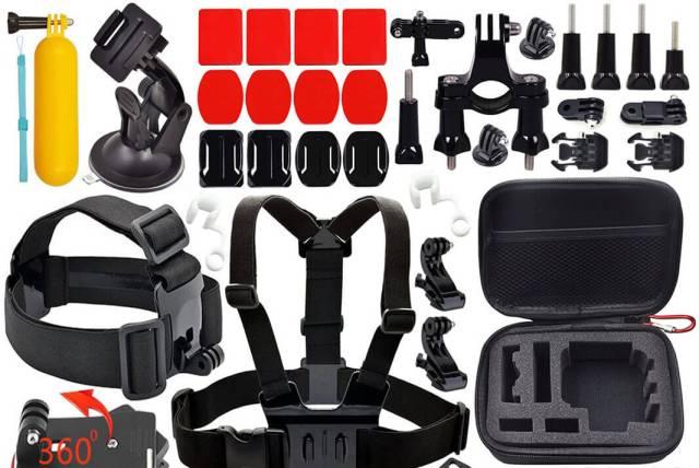 mejores accesorios para cámaras deportivas